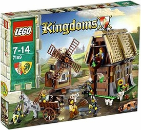 LEGO Kingdoms Set #7189 Mill Village Raid