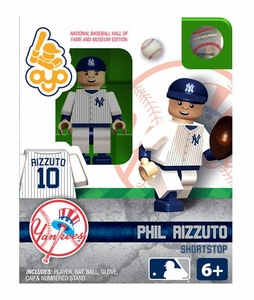 OYO Baseball MLB Building Brick Minifigure Phil Rizzuto [New York Yankees Hall of Fame]
