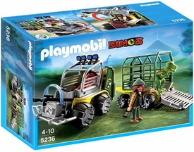 Playmobil Dinos Set #5236 Transport Vehicle with Baby T-Rex