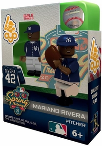 OYO Baseball MLB Building Brick Minifigure Spring Training Mariano Rivera [New York Yankees]