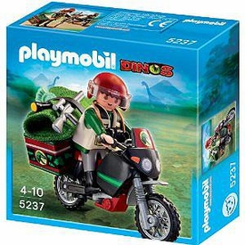 Playmobil Dinos Set #5237 Explorer with Motorcycle