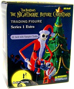 Tim Burton's The Nightmare Before Christmas Series 1 Extra Trading Figure Jack with Vampire Teddy