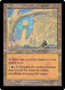 Magic the Gathering Nemesis Single Card Rare #141 Kor Haven