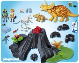 Playmobil Dinos Set #4170 Triceratops with Baby