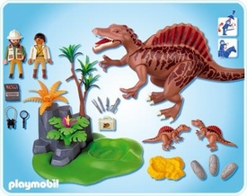 Playmobil Dinos Set #4174 Spinosaurus with Dino Nest