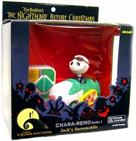 Tim Burton's The Nightmare Before Christmas Series 1 Chara-Remo Jack's Snowmobile