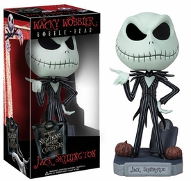 Funko Nightmare Before Christmas Wacky Wobbler Bobble Head Jack Skellington