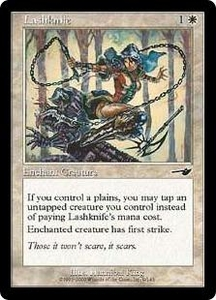 Magic the Gathering Nemesis Single Card Common #9 Lashknife