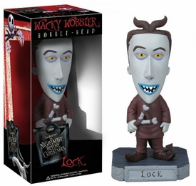 Funko Nightmare Before Christmas Wacky Wobbler Bobble Head Lock