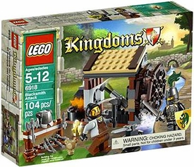 LEGO Kingdoms Set #6918 Blacksmith Attack