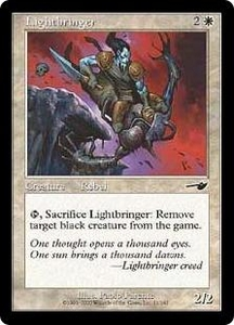 Magic the Gathering Nemesis Single Card Common #11 Lightbringer