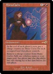Magic the Gathering Nemesis Single Card Rare #92 Mana Cache