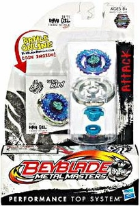 Beyblades Metal Masters Attack Battle Top #BB91 Ray Gil