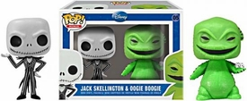 Funko Nightmare Before Christmas POP! Mini Vinyl Figure 2-Pack Jack Skellington & Oogie Boogie
