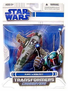 Star Wars Clone Wars 2008 Transformers Crossovers Slave 1 to Boba Fett