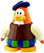 Disney Club Penguin 2 Inch Mini Figure Bard