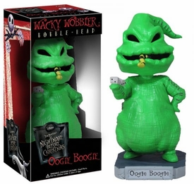 Funko Nightmare Before Christmas Wacky Wobbler Bobble Head Oogie Boogie