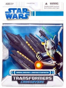 Star Wars Clone Wars 2008 Transformers Crossovers General Grievous to Grievous Starfighter