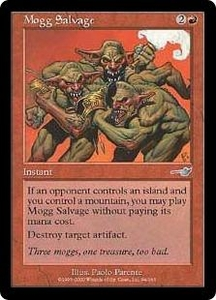Magic the Gathering Nemesis Single Card Uncommon #94 Mogg Salvage