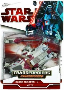 Star Wars 2009 Transformers Clone Trooper Driver to AT-TE