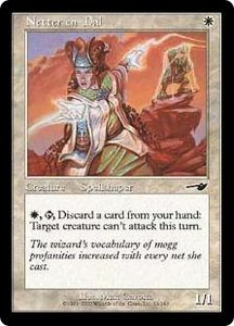Magic the Gathering Nemesis Single Card Common #13 Netter en-Dal