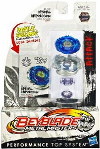 Beyblades Metal Masters Attack Battle Top #BB102 Spiral Capricorn