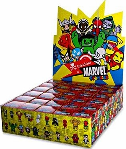 Marvel Tokidoki Frenzies Clip On Blind Mystery Pack Box [30 Packs]