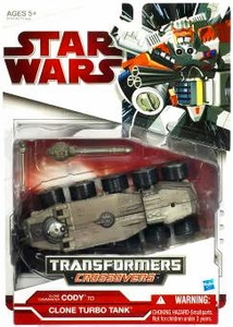 Star Wars 2009 Transformers Commander Cody to Turbo Tank
