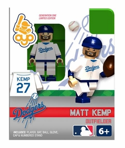 OYO Baseball MLB Building Brick Minifigure Matt Kemp [Los Angeles Dodgers]