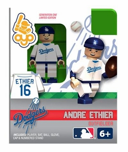 OYO Baseball MLB Building Brick Minifigure Andre Ethier [Los Angeles Dodgers]