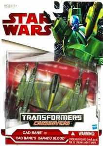 Star Wars Clone Wars 2009 Transformers Crossovers Cad Bane to Xanadu Blood