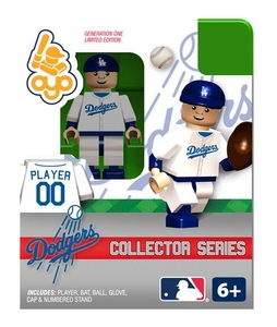 OYO Baseball MLB Building Brick Collector Series Minifigure Player 00 [Los Angeles Dodgers]