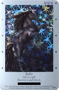 Bella Sara Horses Trading Card Game Series 1 Single Card Foil F3/9 Bello