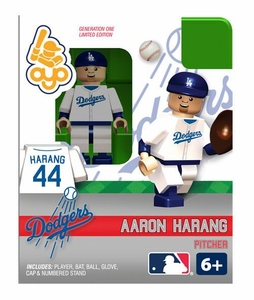 OYO Baseball MLB Building Brick Minifigure Aaron Harang [Los Angeles Dodgers]