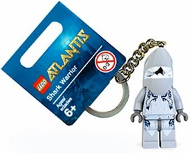 LEGO Atlantis Mini Figure Keychain #852774 Shark Warrior