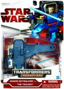 Star Wars 2009 Transformers Anakin Skywalker to The Twilight