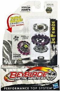 Beyblades Metal Masters Defense Battle Top #B121 Poison Zurafa