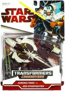 Star Wars 2009 Transformers Ahsoka Tano to Jedi Starfighter