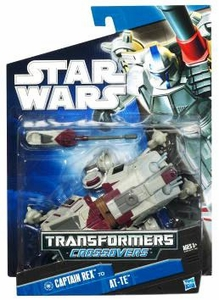 Star Wars 2010 Transformers Crossovers Tank Gunner to AT-TE