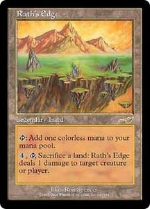 Magic the Gathering Nemesis Single Card Rare #142 Rath's Edge