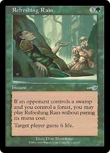 Magic the Gathering Nemesis Single Card Uncommon #110 Refreshing Rain