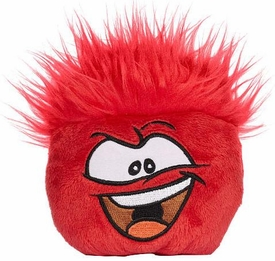 Disney Club Penguin 4 Inch Series 5 Plush Puffle Red [Includes Coin with Code!]
