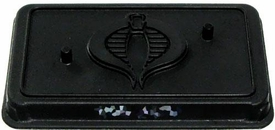 GI Joe 3 3/4 Inch LOOSE Action Figure Accessory Black Cobra Stand [Random Nameplate]