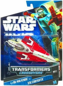 Star Wars 2010 Transformers Crossovers Obi-Wan Kenobi to Jedi Starfighter