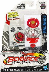 Beyblades Metal Masters Balance Battle Top #BB120 Flame Serpent