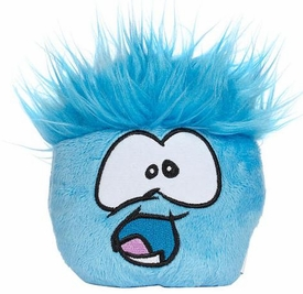 Disney Club Penguin 4 Inch Series 5 Plush Puffle Blue [Includes Coin with Code!]