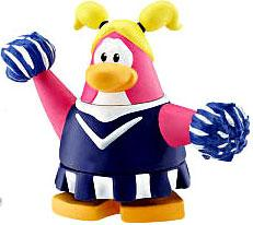 Disney Club Penguin 2 Inch Mini Figure Cheerleader