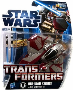Star Wars 2012 Transformers Crossovers Obi-Wan Kenobi To Jedi Starfighter