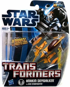 Star Wars 2012 Transformers Crossovers Anakin Skywalker To Jedi Starfighter
