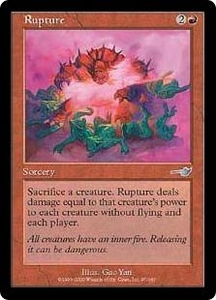 Magic the Gathering Nemesis Single Card Uncommon #97 Rupture